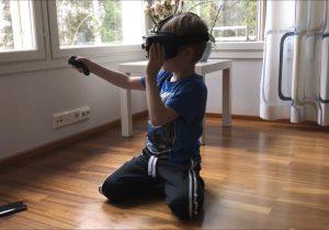 Virtuaalikuntoutusta käytetään Tutoriksella osana puhe-, toiminta- ja fysioterapiaa.
